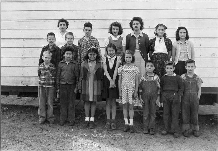 seaside school history 1946